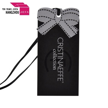 manufactory custom personalized  clothing hang tags with string