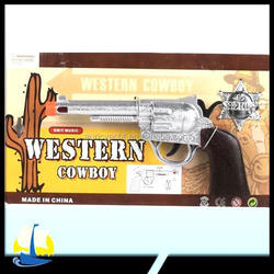 Western Cowboy Pistol, Flashing and Sound