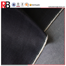 100 cotton black denim spandex fabric by the yard