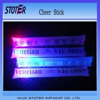 Fans Concert LED Cheering Sticks , Light up cheering sticks , Flashing cheer sticks