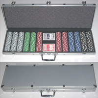 600Fashion Standard Casino Poker Chip Set