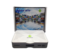 Factory directly selling ip tv set top box with1 year free live TV arabic apk channals no monthly payment