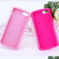wholesale ultra slim tpu cover for iphone 5 mobile phone