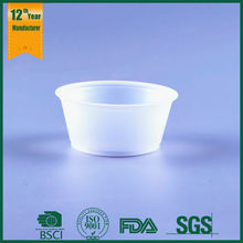 small plastic sample cups,plastic cup for jelly,translucency plastic cup