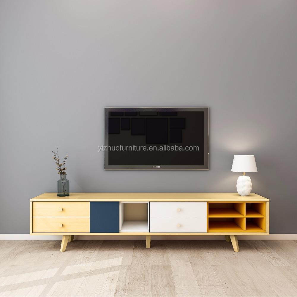 Grossiste Table Tv Bois Acheter Les Meilleurs Table Tv Bois Lots  # Table Tv Design En Bois