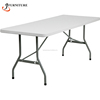 Rectangle Outdoor Plastic Folding Table On