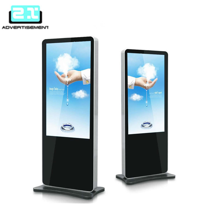big large size lcd screen for shopping mall digital display advertising stand
