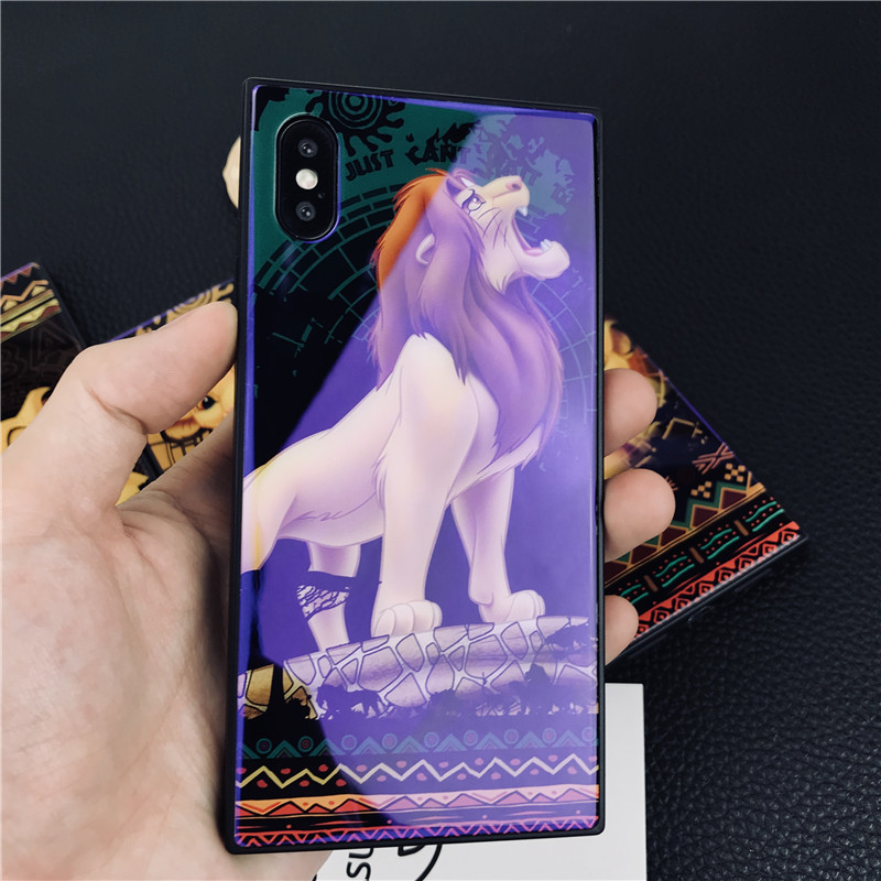 TPU PC hybrid DIY art color printing glass phone skin for iphone