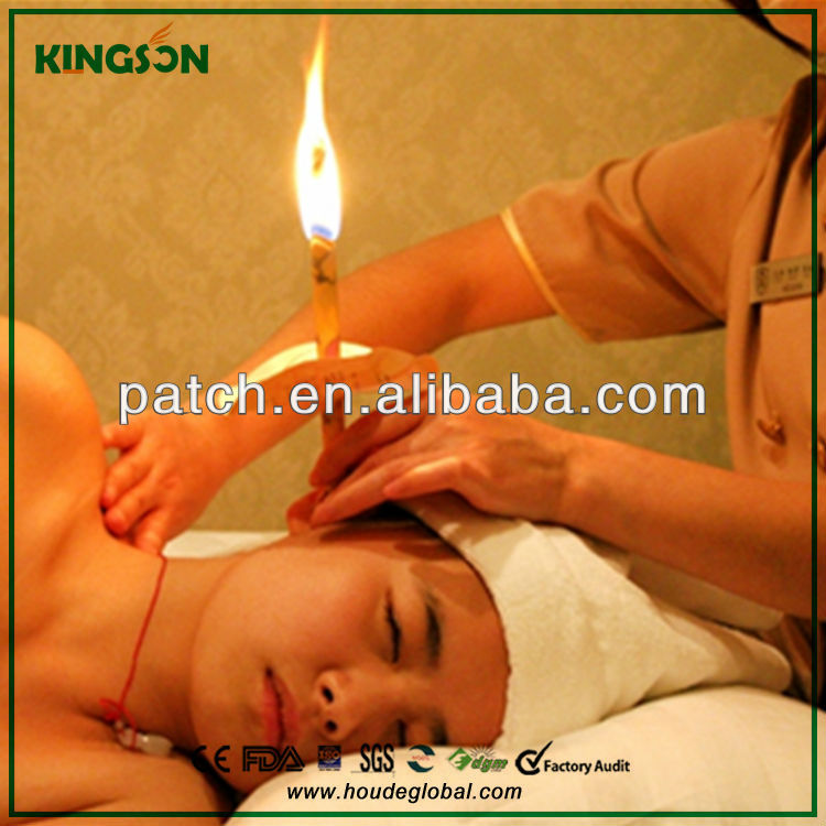 2014 Pure natural high quality ear candle-beeswax ear cone