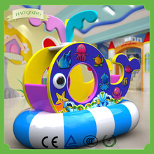 New products , kids commercial toys children's playground marine theme swing whale