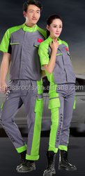 Short-sleeved summer uniforms suit male engineering services protective clothing factory auto repair service shop