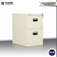 modern popular office furniture lateral steel file cabinet 2-tier lateral steel file cabinet