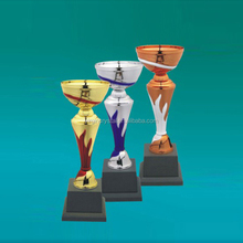 Wholesale chromatic Trophy Cup Metal Sports