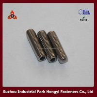 din916 stainless steel hexagon socket blind set screws
