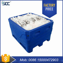 SCC heavy duty 600L Plastic fish containers fish tubs fish totes