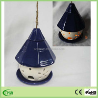 Wholesale hanging ceramic automatic bird feeder