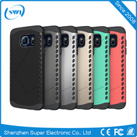 Hot Selling 2 in 1 Rugged Shockproof Slim Armor Phone Case Back Cover For Samsung S7 Edge
