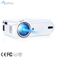1080P Mini HD LED Projector, Multimedia Home Theater Video 170'' Portable Projector Support Android phone and iPhone