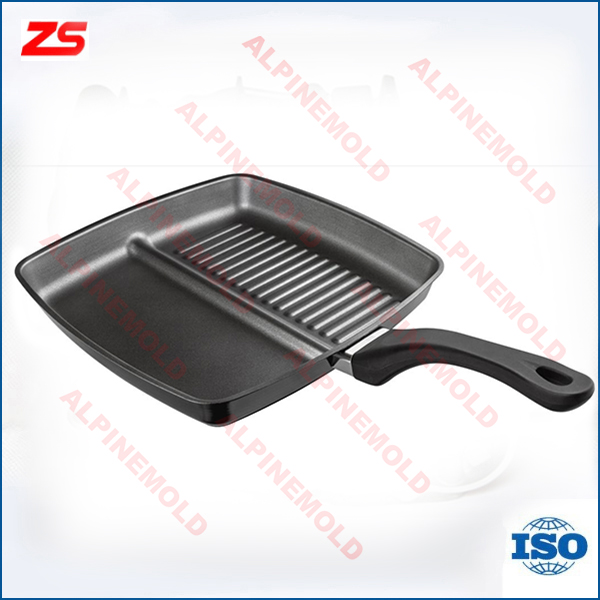 Good quality die casting grill pan/frying induction griddle