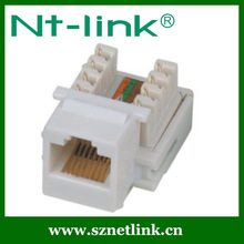 2016 MP Low Price Cat5e UTP RJ45 Keystone Jack With Dust Cover