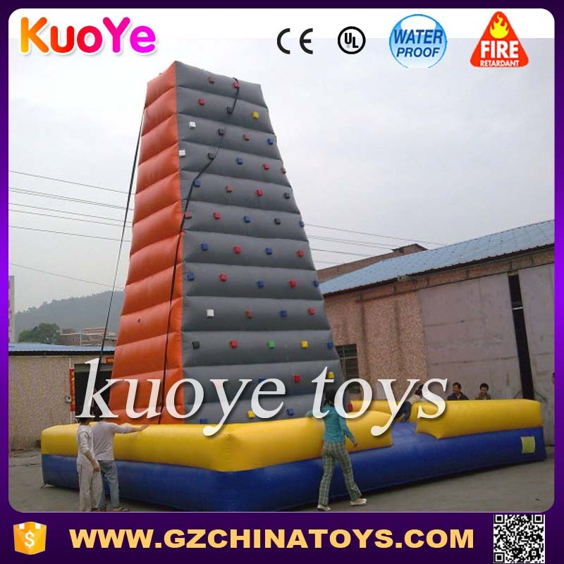 inflatable climbing wall inflatable rock climbing rocky mountain climber