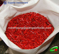 Woven bag packed red hot chilli birds eye red chilli