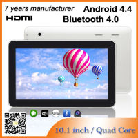 ZXS-10-w 10.1 Inch Android Tablet 16gb MID Quad Core Android 4.4 Tablet pc Laptop Notebook with Bluetooth HDMI,