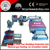 WJM-2 new designed nonwoven polyester fiber wadding felt machines with 3 sets bale openers
