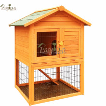 Waterproof Wooden Luxury 3 tier Easy clean rabbit cage