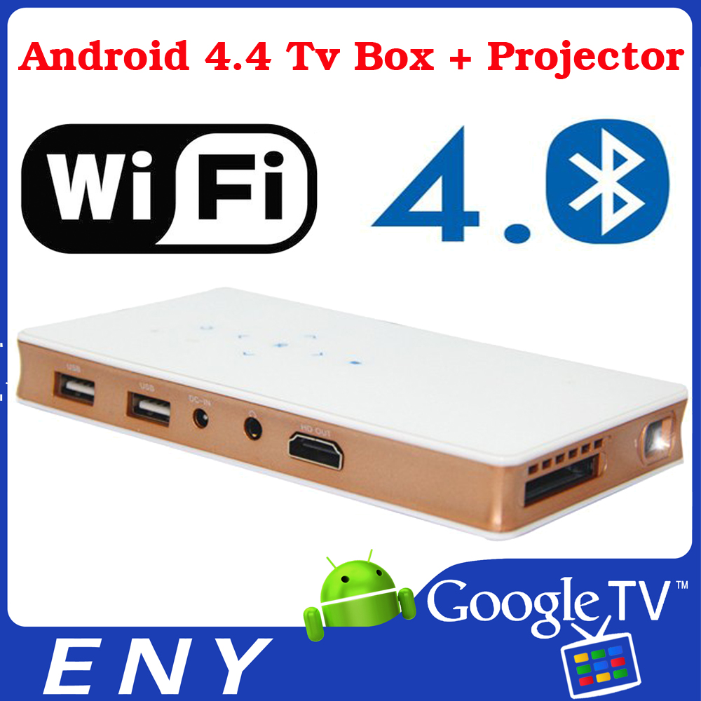 tv box projector ENY P8 DLP Mini Quad Core CPU Dual Wifi Android Mini Projector