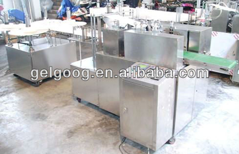 Full-auto Alcohol pre-pad wipes making and packing machine