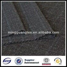 T/R 85/15 twill stripe wool touch suiting fabric mature women wear