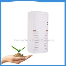Wall mounted automatic fan type air freshener dispenser