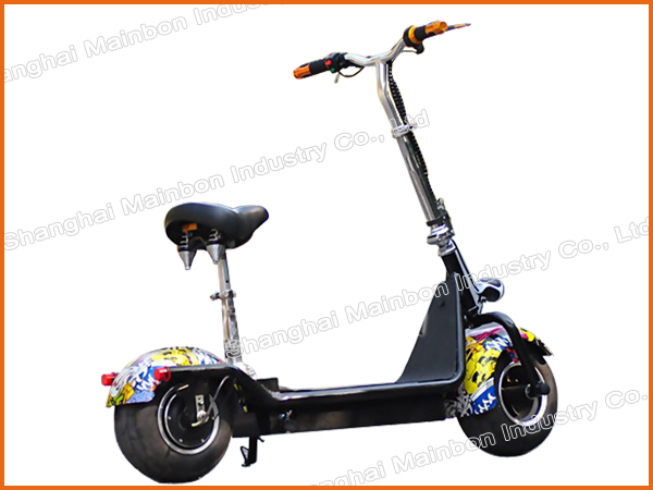 China cheap foldable 800W citycoco fat tire harley electric scooter