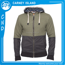 custom made men stylish hoodie lastest design two color hoodies jacket