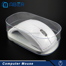 2.4Ghz ABS RoHS Optical USB Wireless Computer Mouse with Silk screen printing logo