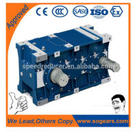 China supplier wholesale oil filling gear transmission box with electric motor