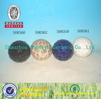decorative ceramic balls for home or garden decoration