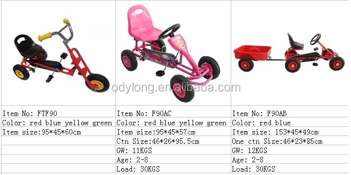 From factory Latest design hot sell kid scooter /pedal car for 3-10 years old F20h
