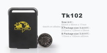 Low Cost Vehicle Realtime Car Personal Mini GPS Tracker Coban TK102 for Persons and Pets