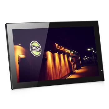 18.5 inch lcd advertising display wall mount or desktop lcd ad player