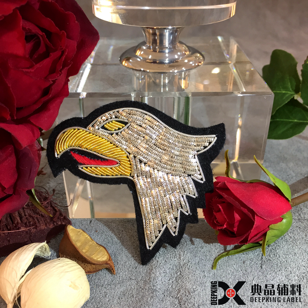 custom all animals shape/look embroidery patches 3d embroidery logo patches
