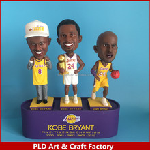 Kobe bobble head Resin Bobble Head 7inch action figure home decoration