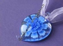 Lampwork Heart Hanging Necklace Box 87966