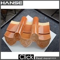 Made In China Popular Classic Colorful Ceramic Roof Tiles Price