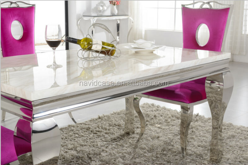 A8028 gro handel wei em marmor 8 sitzer esstisch und stuhl for Marmor esstisch grosshandel