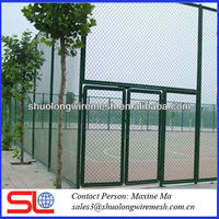 PVC coating chain link fence ,garden plastic edging