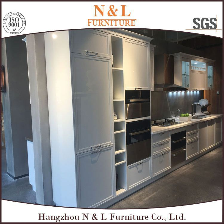 china supplier shopping 2016 Economical And Practical Project oak solid wood kitchen cabinets