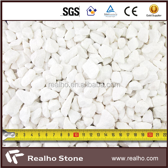 Crushed Marble Chips For Flooing Tile Pattern
