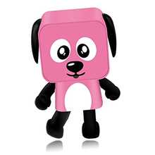 MINI Toy Dog Speaker Wireless Dancing Dog Speakers Small Square Puppy Toy gift for the Children